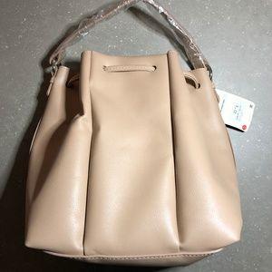 Zara Blush Bucket Bag